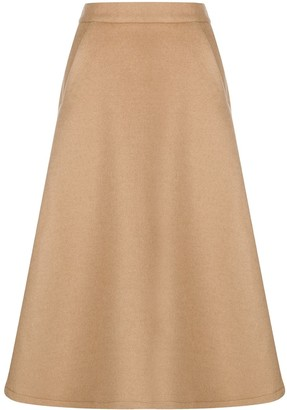 Societe Anonyme high-waisted A-line skirt
