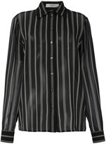 Lanvin striped shirt - women - Silk - 36