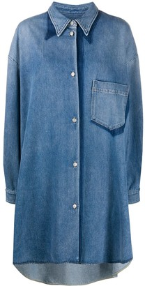 MM6 MAISON MARGIELA Denim Shirt Dress