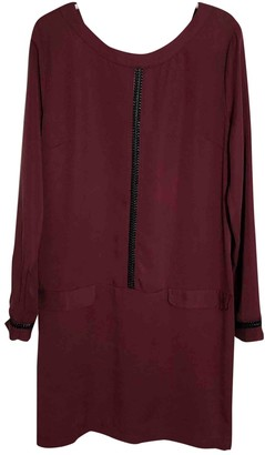 La Petite Francaise Burgundy Dress for Women