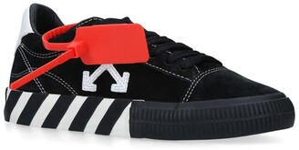 Off-White Suede Arrows Low-Top Sneakers