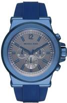 Michael Kors DYLAN Chronograph watch blau