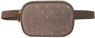 Un Billion TMRW Studio Suede Studded Belt Bag - Alexander