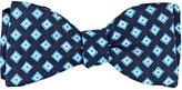 Barneys New York Men's Diamond-Pattern Silk Twill Bow Tie