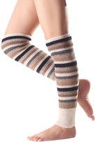 Sheliky Leg Warmers Boot Socks Knee High Winter Knit Stripe Legwarmers for Women
