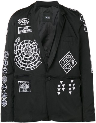 Kokon To Zai Scout patch blazer