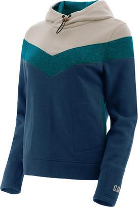 CAT Women's Sweatshirts and Hoodies INK - Ink Blue Color-Block Water-Resistant Charlie Hoodie - Women