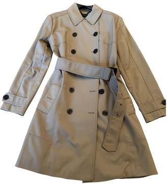 Twin-Set Twin Set Beige Trench Coat for Women