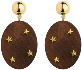 Eshvi Wooden Earrings