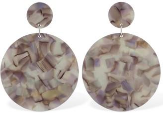 Anca Acetate Disc Earrings
