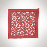 Ralph Lauren Nautical Silk-Blend Neck Scarf