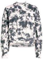 Thumbnail for your product : Bassike Tie-Dye Fleece Sweatshirt