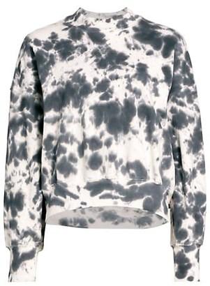 Bassike Tie-Dye Fleece Sweatshirt