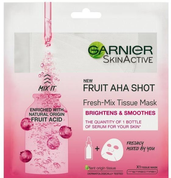 Garnier Fresh-Mix Face Sheet Shot Mask Fruit Acid 33g