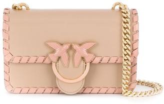Pinko Logo Plaque Crossbody Bag