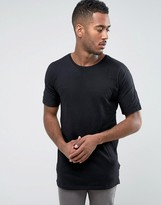 Bellfield Batwing T Shirt In Textured Fabric