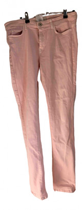 Max Mara Weekend Pink Cotton Jeans for Women