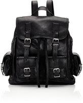 Saint Laurent Men's Classic Backpack-BLACK