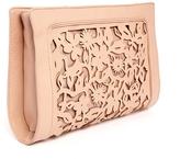 Asos Floral Laser Cut Clutch Bag