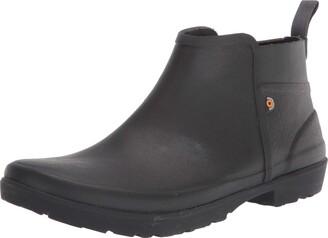 Bogs Women's Flora Bootie Waterproof Low Garden Rain Boot