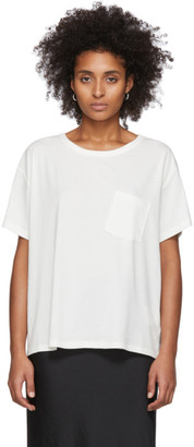 Alexander Wang White Tilted Pocket T-Shirt