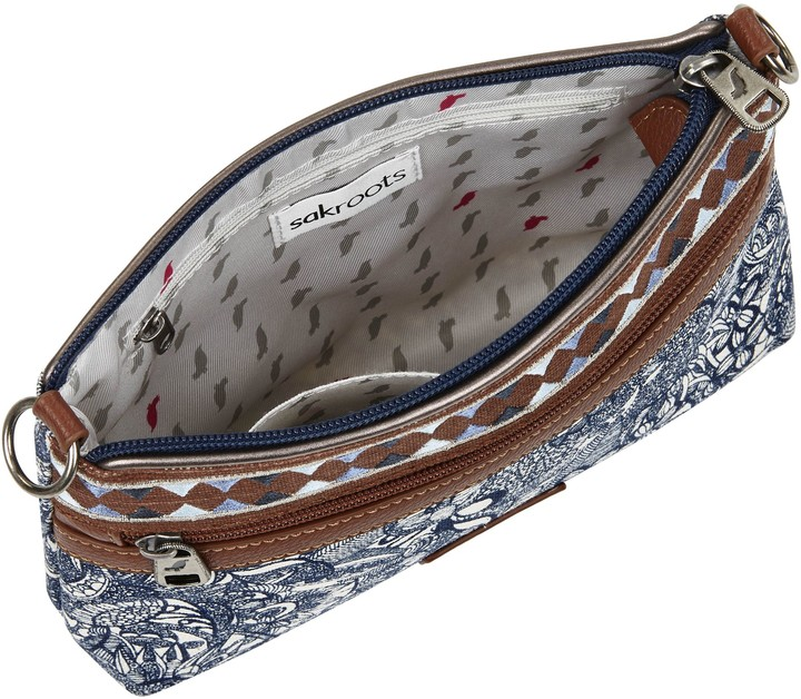 The Sak Sakroots Print Canvas Campus Mini Handbag