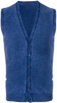 Jacob Cohen sleeveless knitted cardigan