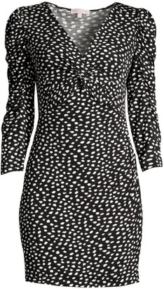 Rebecca Taylor Dotted Jersey Dress