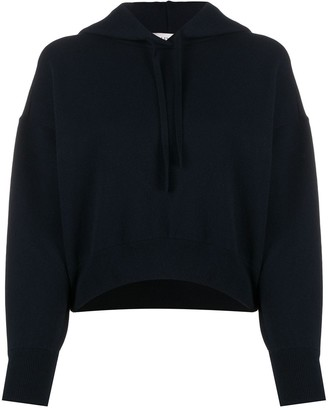Valentino Boxy-Fit Cropped Hoodie
