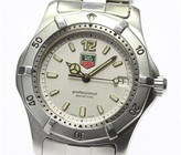 Tag Heuer Diving Watch WK1212 Stainless Steel 34mm Mens Watch