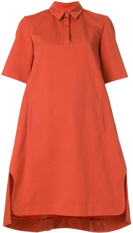 Carven collared shift dress