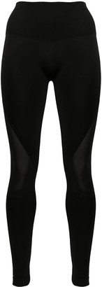 Wolford Gaia mesh panel leggings