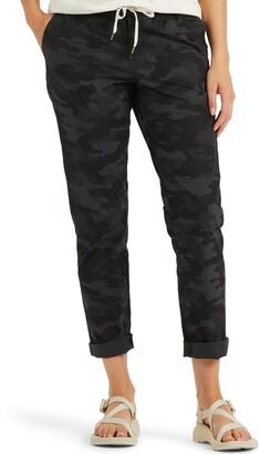 vuori Drawstring Stretch Cotton Pants