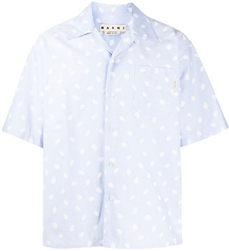 Marni Dot Print Boxy Shirt