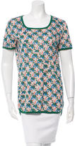 Balenciaga Short Sleeve Printed T-Shirt