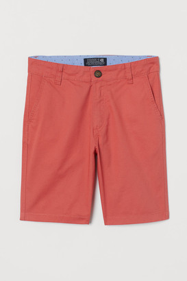 H&M Chino Shorts - Orange