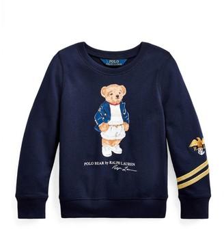 Ralph Lauren Kids Polo Bear Sweatshirt (7-14 Years)