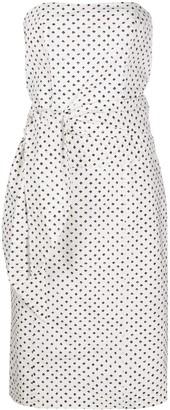 FEDERICA TOSI Strapless Tie-Waist Dress