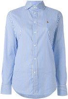 Polo Ralph Lauren striped shirt - women - Cotton/Nylon/Spandex/Elastane - 2