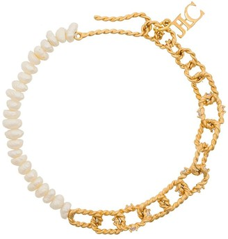 Joanna Laura Constantine Two-Tone Style Bracelet