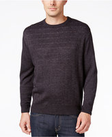 Weatherproof Men's Big and Tall Check Sweater, Classic Fit