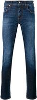 Dolce & Gabbana pineapple tapered jeans - men - Cotton/Spandex/Elastane/PVC/Silk - 46