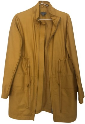 Cos Yellow Leather Jacket for Women