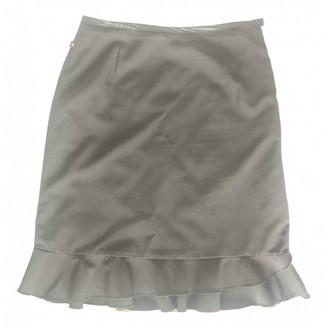 Cerruti Black Suede Skirt for Women