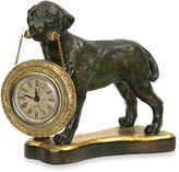 Bed Bath & Beyond Black Labrador Table Clock