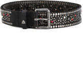 Htc Hollywood Trading Company - embellished buckle belt - women - Leather - 75