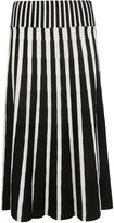 MSGM Striped Skirt