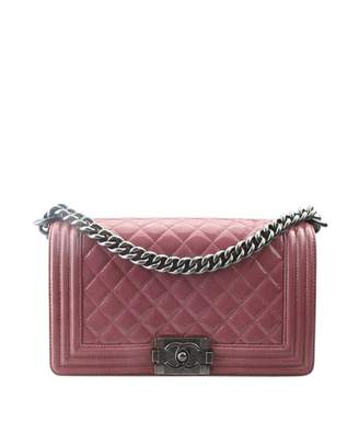 Chanel Boy Pink Patent leather Handbags