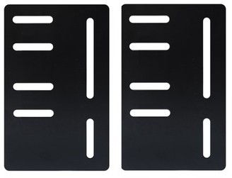 Pilaster Designs Gary Headboard / Footboard Attachment Brackets Modification Modi-Plates For Bed Frame With Multiple Slots (Set Of Two)