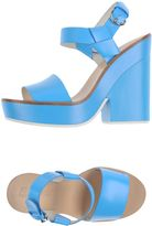 Jil Sander Navy Sandals - Item 11162877